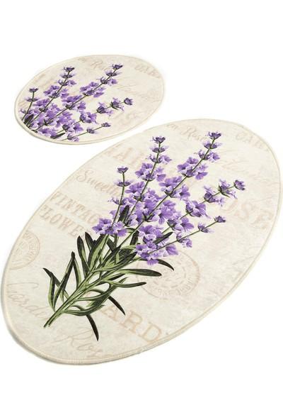 Chilai Home Lavender Djt 2'li Set Banyo Halısı