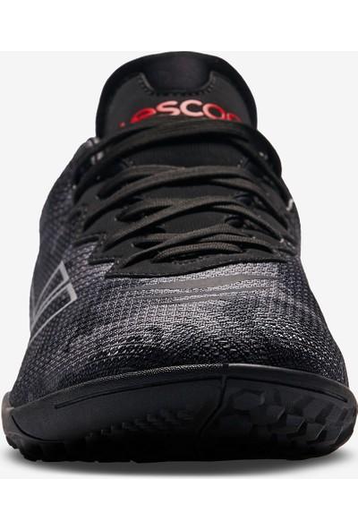 Lescon Thor-016 H-19B Siyah Erkek Halı Saha Ayakkabısı