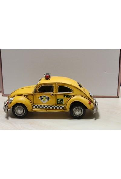 Mnk Metal Dekoratif Woswos Sarı Taksi 1010E1882