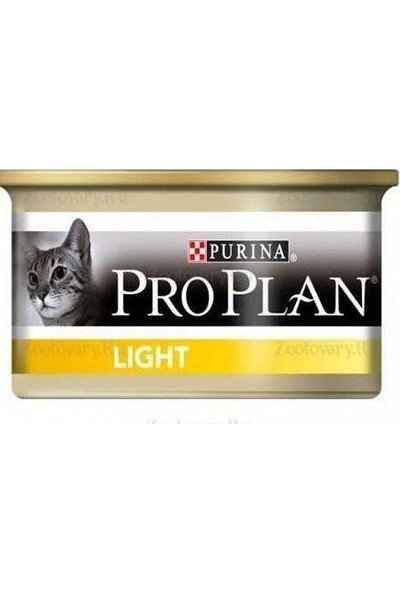 Proplan Light Hindi Etli Kedi Konservesi 85 Gr