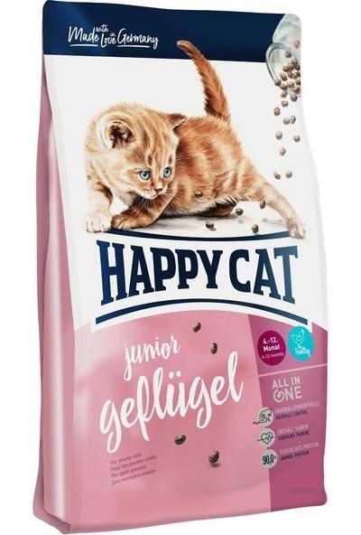 Happy Cat Junior Tavuk Ve Somonlu Yavru Kedi Maması 1,4 Kg
