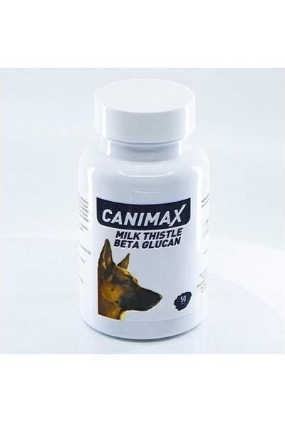 Canimax Milk Thistle Beta Gluten Köpek Vitamin Tableti (50 Tablet)