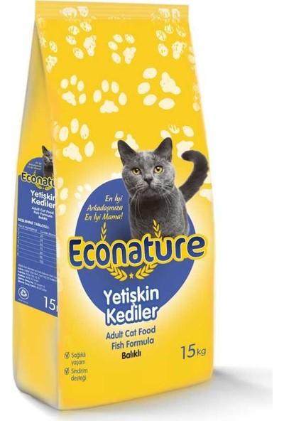 Econature Balıklı Kedi Maması 1 Kg Açık