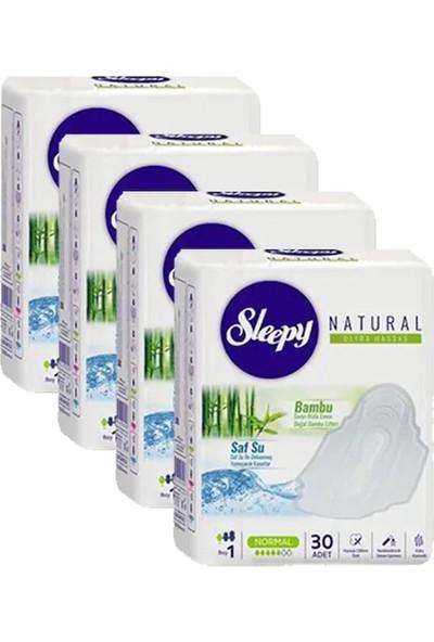 Sleepy Natural Ultra Hassas Hijyenik Ped Normal 30'lu 4'lü Set