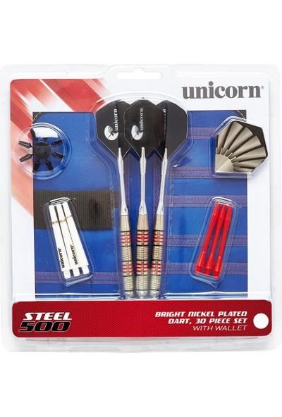 Unicorn 71824 Steel 500 23gr 3lü Çelik Uçlu Dart Oku Seti