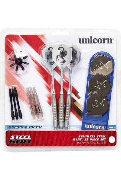 Unicorn 71827 Steel 600 21gr 3lü Çelik Uçlu Dart Oku Seti