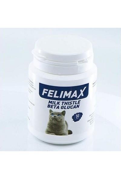 Felimax Milk Thistle Beta Glucan Kedi Vitamin Tableti (50 Tablet)