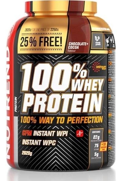 Nutrend %100 Whey Protein 2820 Gr - Çikolata