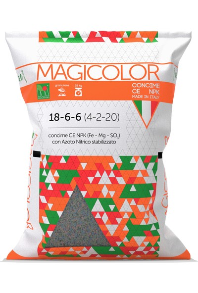 Mugavero Magicolor 18.6.6 (25Kg)