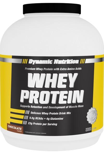 Dynamic Whey Protein Tozu 2000 Gr (Çikolata)