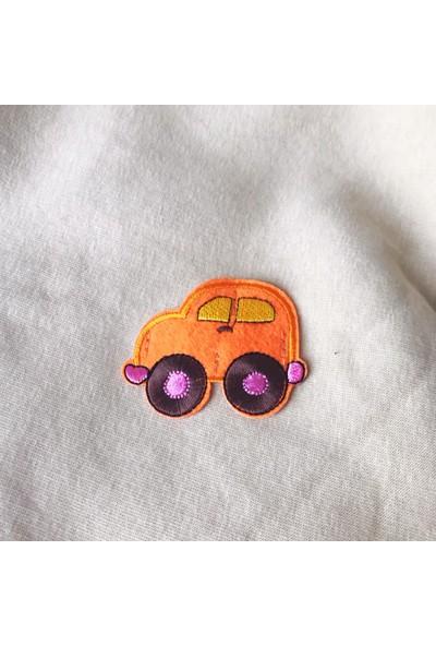 Kemique Orange Car Kedi Süeteri Kedi Kıyafeti Kırmızı Yıldızlı