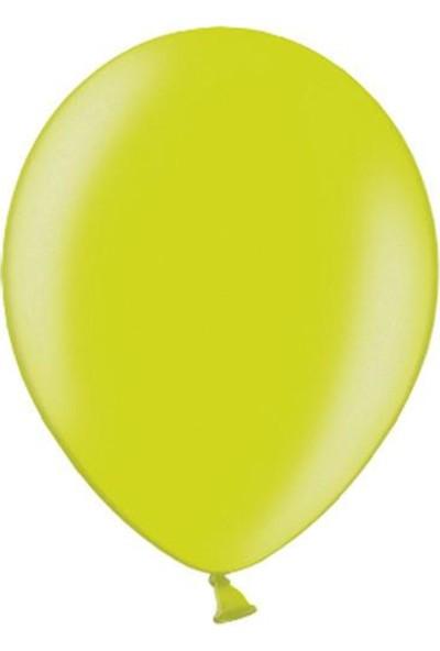 Partifabrik Açık Yeşil Metalik Balon