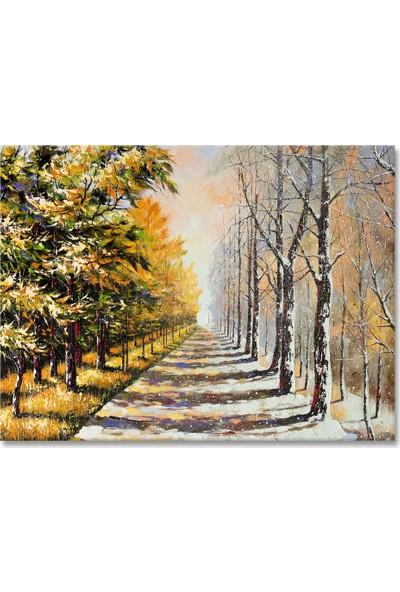 Arte Casero Manzara Yağlı Boya Tablo 60x90 cm