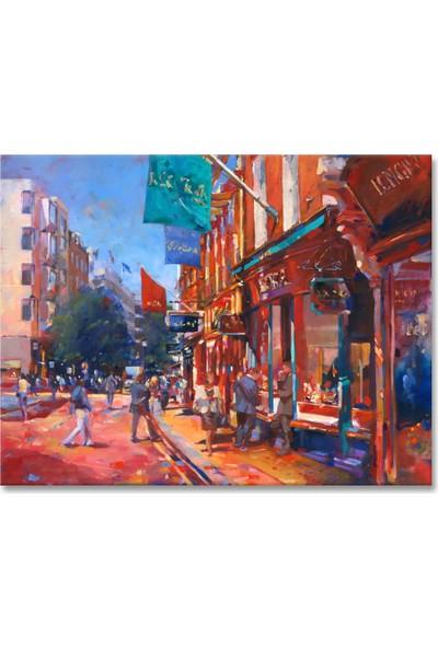 Arte Casero Şehir Yağlı Boya Tablo 60x90 cm