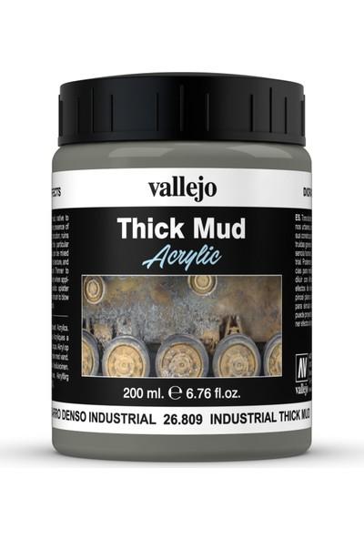 Vallejo Thıck Mud Industrıal Mud 26.809 200 Ml