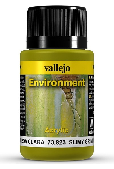 Vallejo Weathering Effects 40Ml Slimy Grime Light Environment 73.823