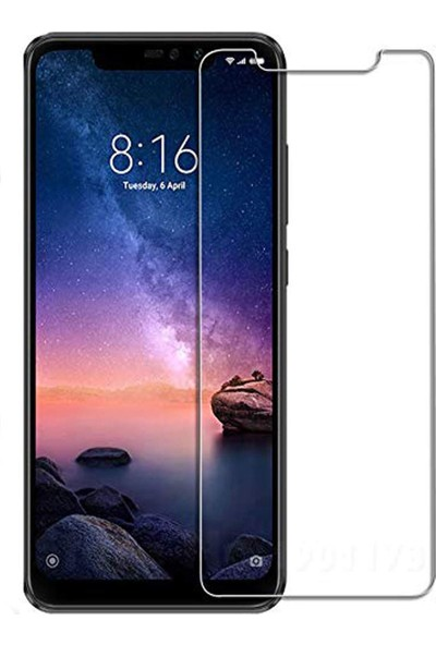 Case 4U Xiaomi Redmi Note 6 Pro Nano Cam Ekran Koruyucu