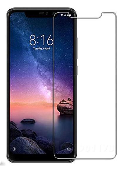 Case 4U Xiaomi Redmi Note 6 Pro Blue Nano Cam Ekran Koruyucu