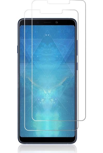 Case 4U Samsung Galaxy A9 2018 Temperli Cam Ekran Koruyucu
