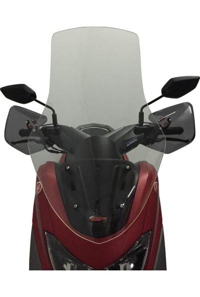 Gp Kompozit Yamaha Nmax 125-155 Gp Tur Camı 2015-2018 Şeffaf - 72 Cm