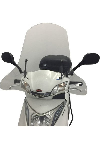 Gp Kompozit Honda Spacy / Fizy Ön Cam 2011-2018 Şeffaf - 59 Cm