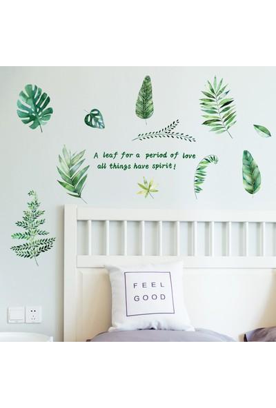 Crystal Kids Orman Yeşillikleri Ev Salon Ofis Dekorasyonu Duvar Dekoru Sticker