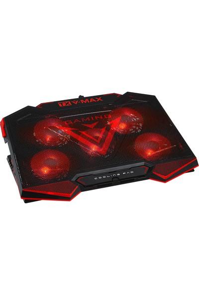 TX V-MAX 5 Fanlı Oyuncu Notebook Soğutucusu (TXACNBVMAX)