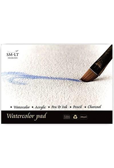 Sm Watercolor Pad A3 20Yp 260Gr