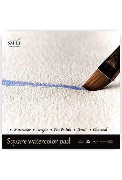 Sm Watercolor Pad 300X300 20Yp 260Gr