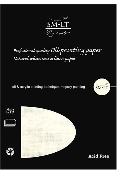 Sm Oil Painting Pad A3 10Yp 230Gr