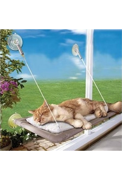 Cama Asılan Kedi Yatağı Minderi Kedi Evi Minder