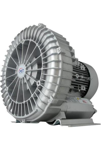 MIT Blower Hava Motoru 0,55 KW B3TT-105 Trifaze 100 M3/H