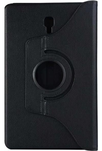 Teleplus Samsung Galaxy Tab S4 T830 360 Dönerli Standlı Kılıf Siyah