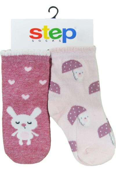 Step 1960 2'li Bebek Çorabı