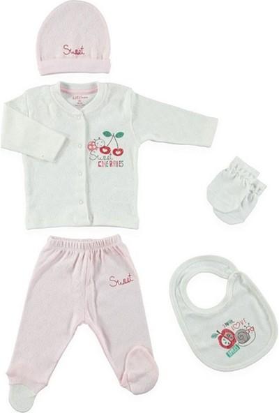 Aziz Bebe 5197 5'li Bebek Hastane Çıkış Seti