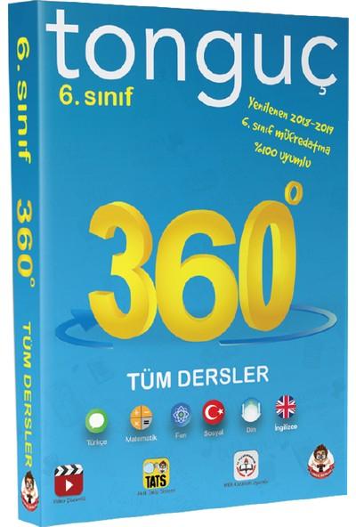 Tonguç Akademi 6. Sınıf 360 Soru Bankası (Cep Kitabı)