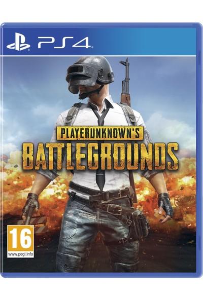 PUBG PlayerUnknown's Battlegrounds PS4 Oyun