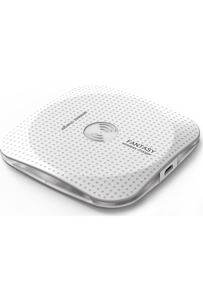 Fantasy Kablosuz Wireless Hızlı Şarj Standı iPhone Android Uyumlu