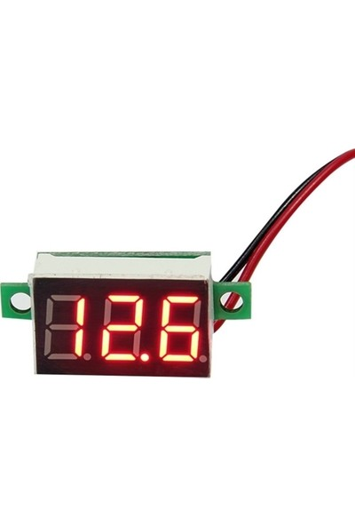ModaCar Mini Dijital Araç Voltmetre 424007