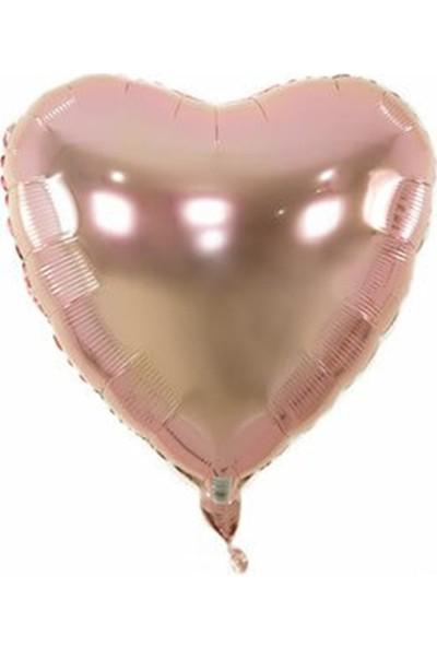 Partifabrik Rose Gold Kalp Folyo Balon 40cm