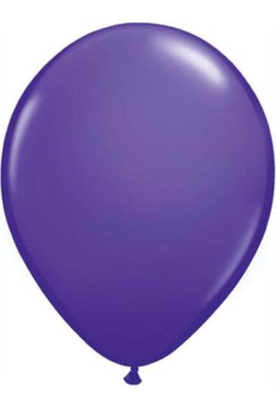 Partifabrik Mor Renk Metalik Balon 5 li