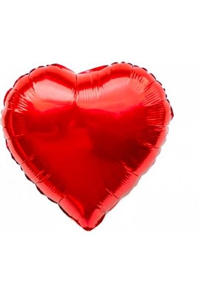 Partifabrik Kırmızı Kalp Folyo Balon