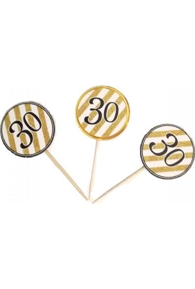 Partifabrik 30 Yaş Temalı Kürdan