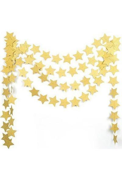 Partifabrik Gold Yıldız Süs