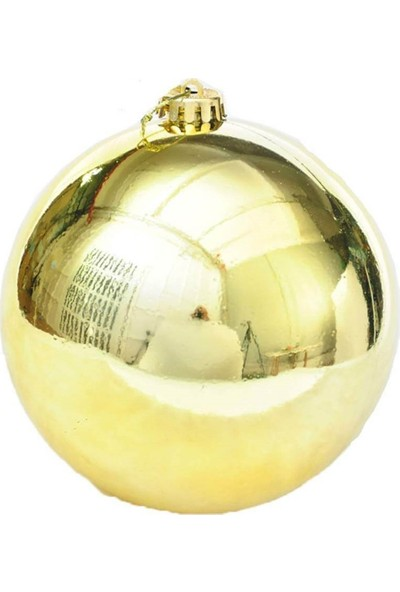 Partifabrik Yılbaşı Gold Top Ağaç Süsü 6 cm