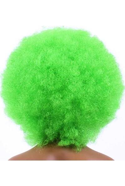 Partifabrik Yeşil Bonus Peruk Saç