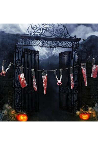 Partifabrik Cadılar Bayramı Bıçak Süs