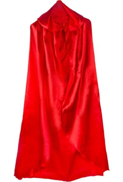 Partifabrik Halloween Kapşonlu Kırmızı Pelerin 140x140