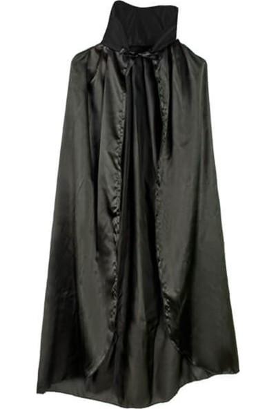 Partifabrik Halloween Yakalı Pelerin Siyah 140x140
