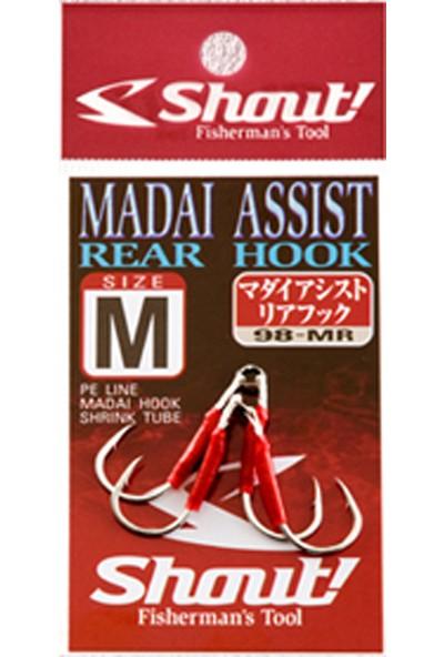 Shout Madai Assist Rear Hook Serisi Olta İğnesi